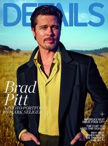 Brad Pitt para Details Magazine