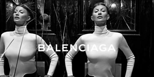 Gisele-Bundchen BALENCIAGA 2014