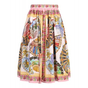 DOLCE&GABBANA cotton skirt € 918