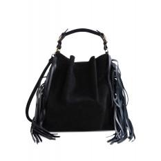 MARNI black suede bucket bag € 1517