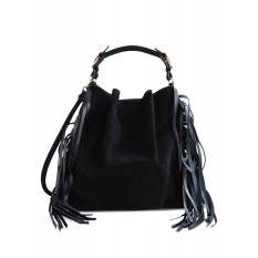 MARNI black suede bucket bag € 1517