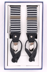 Stripes Suspender Navy - 04178