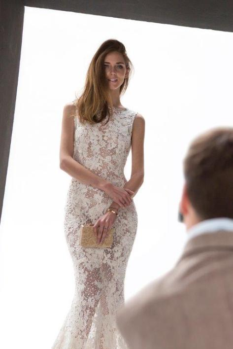 CHIARA FERRAGNI / FOTO MAKING  OF GONZALO MACHADO