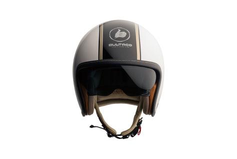 casco BULTACO CLASSIC WHITE