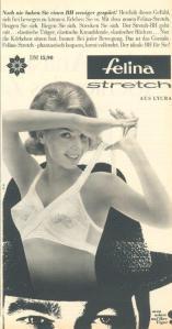 Felina_BH mit elastischen Trägern aus dem Jahr 1963