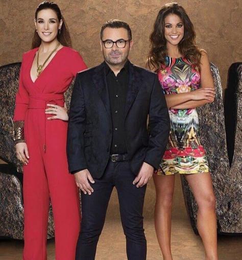 Raquel Sánchez Silva / Jorge Javier Vázquez / Lara Alvarez presentadores de SUPERVIVIENTES 2015