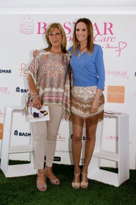 Montse Bassons y Sandra Ibarra