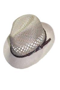 Sombrero con banda de cuero ¡INTERESANTE!
