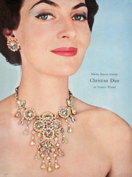 CHRISTIAN DIOR joyería 1960