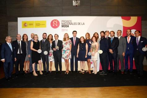 Andres Sarda Premio Nacional al diseñador por Trayectoria II