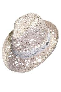 Protégete del calor con este sombrero con banda blanca!!