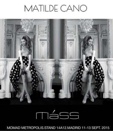 MATILDE CANO  Y MASS te esperan en MOMAD METRÓPOLIS  11-15 septiembre