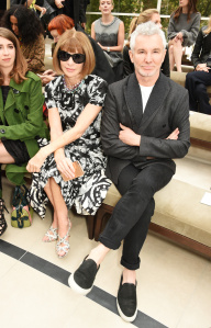 Anna Wintour and Baz Luhrmann
