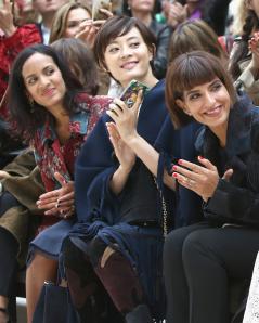 Anushka Sankhar, Sun Li y Princess Deena Aljuhani
