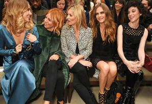 Suki Waterhouse, Sienna Miller, Kate Moss, Cara Delevingne y St Vincent