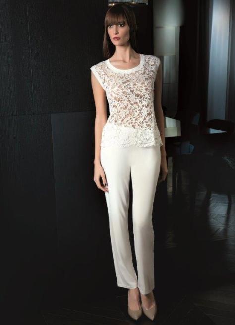 LUNA nos muestra este top con pantalón invierno 2015/16