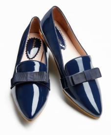 Mademoiseller para La Redoute - sleeper azul tinta con lazo de raso