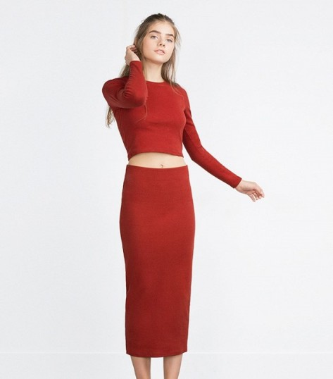 falda midi 18€