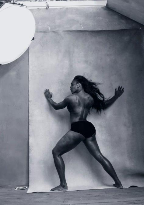 Pirelli Calendar 2016 - April - SERENA WILLIAMS Pirelli