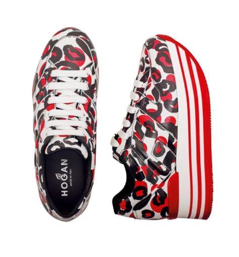Sneakers con maxi plataforma