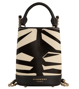 BURBERRY PRORSUM Bucket leather 1.695€