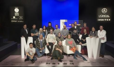 Foto de familia de los diseñadores participantes