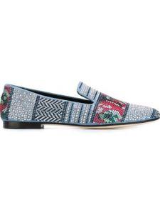 GIUSEPPE ZANOTTI DESIGN zapatos slippers con tachuelas 810