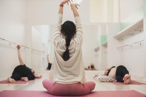 Yoga pre mamás