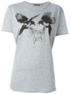 camiseta estampado pájaros ALEXANDER MCQUEEN € 212