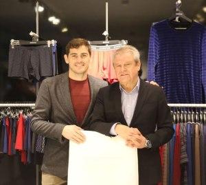 Iker Casillas y Alberto Figueiredo, CEO de Impetus