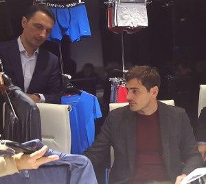 Iván Cortada, Country Manager de Impetus e Iker Casillas