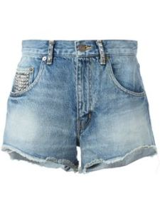 SAINT LAURENT - shorts con tachuelas € 590