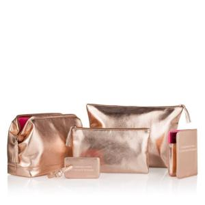 Set Luxury Travel Bags for Her Rose Gold