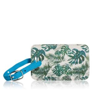 Travel Hang Tag Flower Print