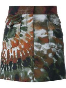 VALENTINO minifalda con estampado tie die € 890