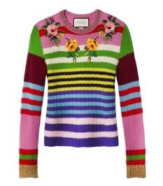 Top cashimire lana con detalles de lurex