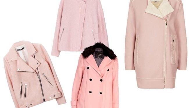Los abrigos más rosas que nunca