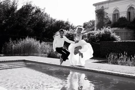 ATLANTIS dress ATELIER PRONOVIAS 2017 / Jon Kortajarena & Romee Strijd