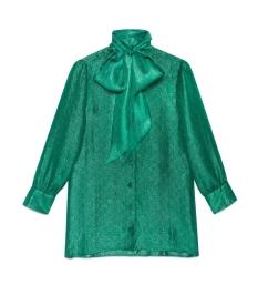 Blusa lurex verde