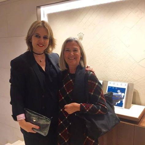 """Con Rosa Tous, anfitriona de lujo, en la inauguración de la """"boutique"""" Rolex Barcelona"""
