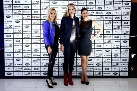 de izquierda a derecha): Jessica Expósito, Judit Mascó y Ares Teixidó