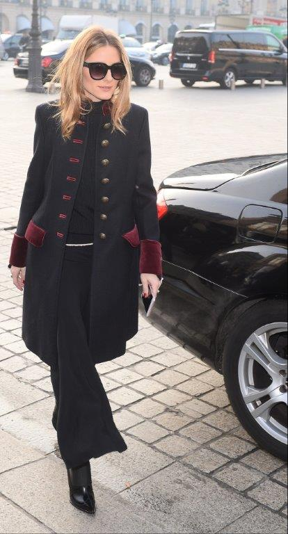 OLIVIA PALERMO Fay military coat