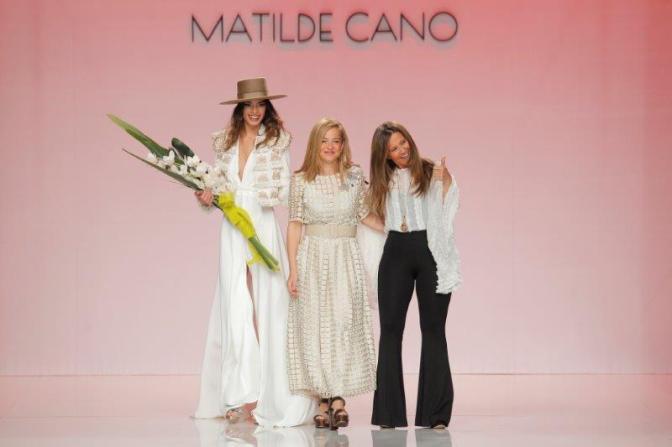 MATILDE CANO desfila en la Barcelona Bridal Fashion Week