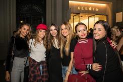 Emitaz, Coral Simanovich, Melissa Jiménez, Elena Galera y Romarey Ventura