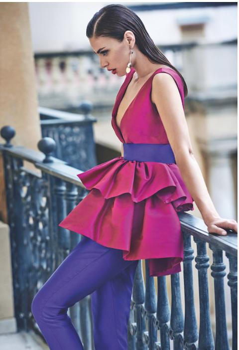 18d36a25b8 Matilde Cano presenta su colección de vestidos de fiesta 2018 ...