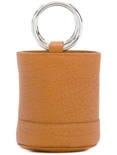 SIMON MILLER bolso tote estilo bombonera de diseño abierto PVP 441 €