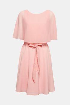 Vestido brillante con capa cosida 79,99 €