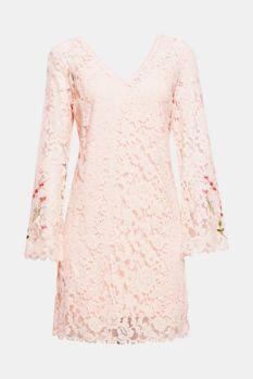 Vestido de encaje con forro de punto 99,99 €