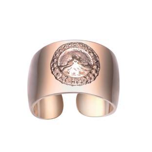 AURORA BULKY RING-rosegold