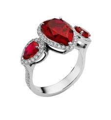AS By Penelope Cruz, Created Ruby Ring